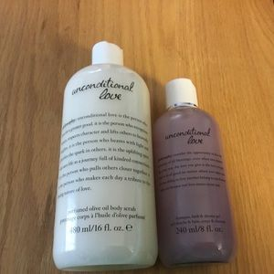 Philosophy Unconditional Love Bath and Body Combo